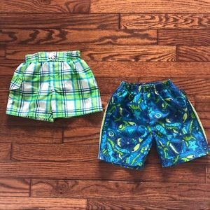OshKosh & OP, Two Baby Bathing Suits, Size 12M